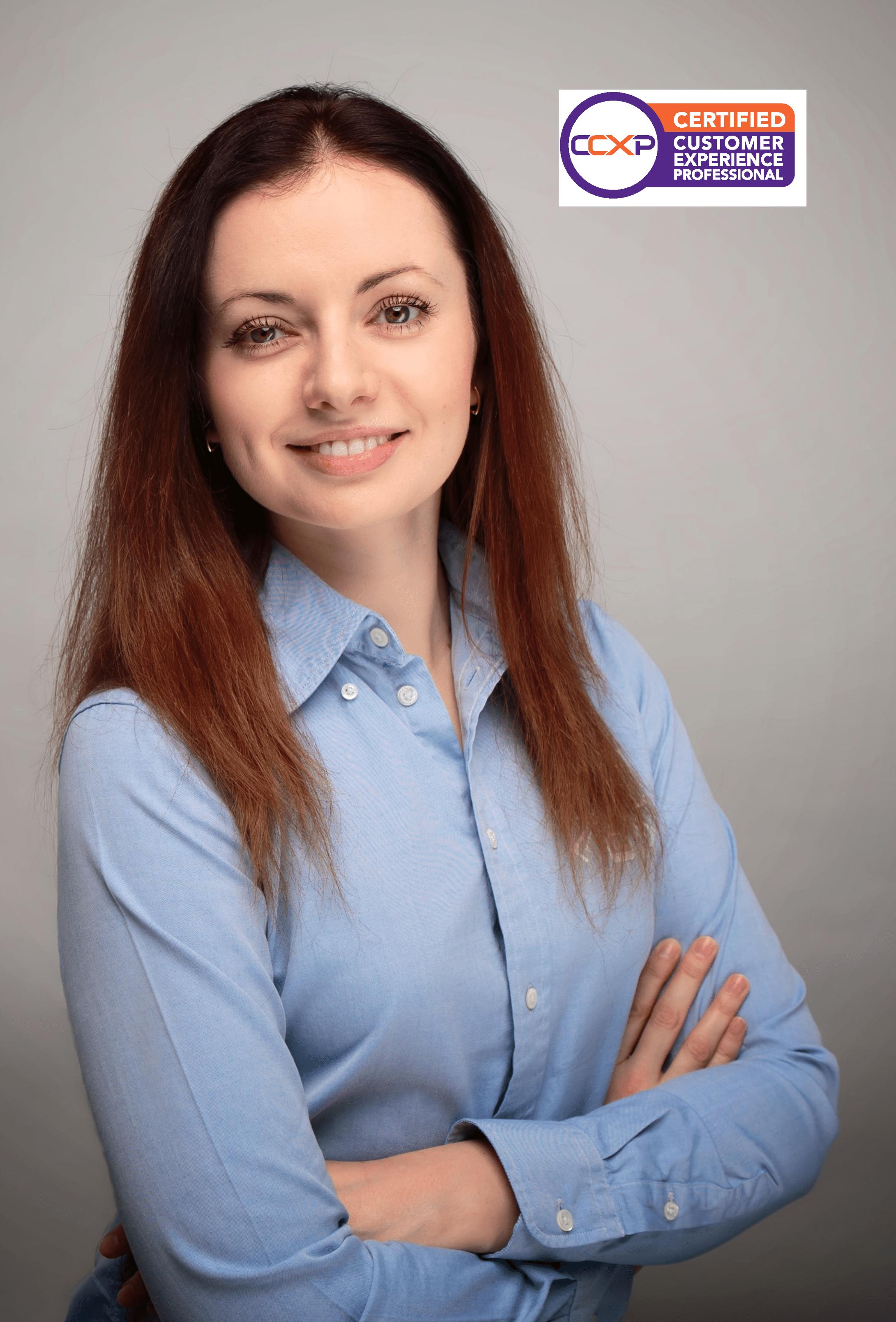 Iryna Sheremetieva, CCXP, Data Geek