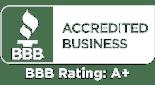BBB A+ Member Logo-White