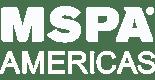 White MSPA Americas Member Logo