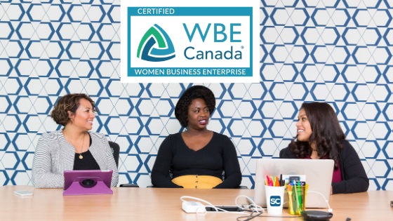 We Are Women Business Enterprise Canada Certified!
