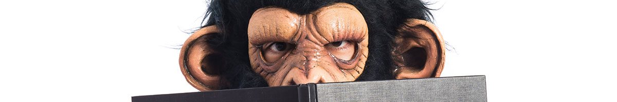 Ape Mask. Shoppers Confidential