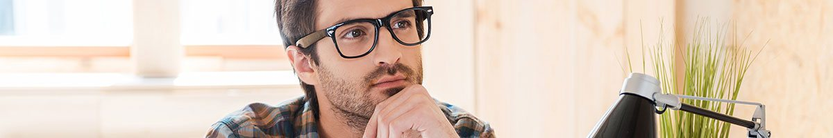 Man thinking about Mystery Shopping Services